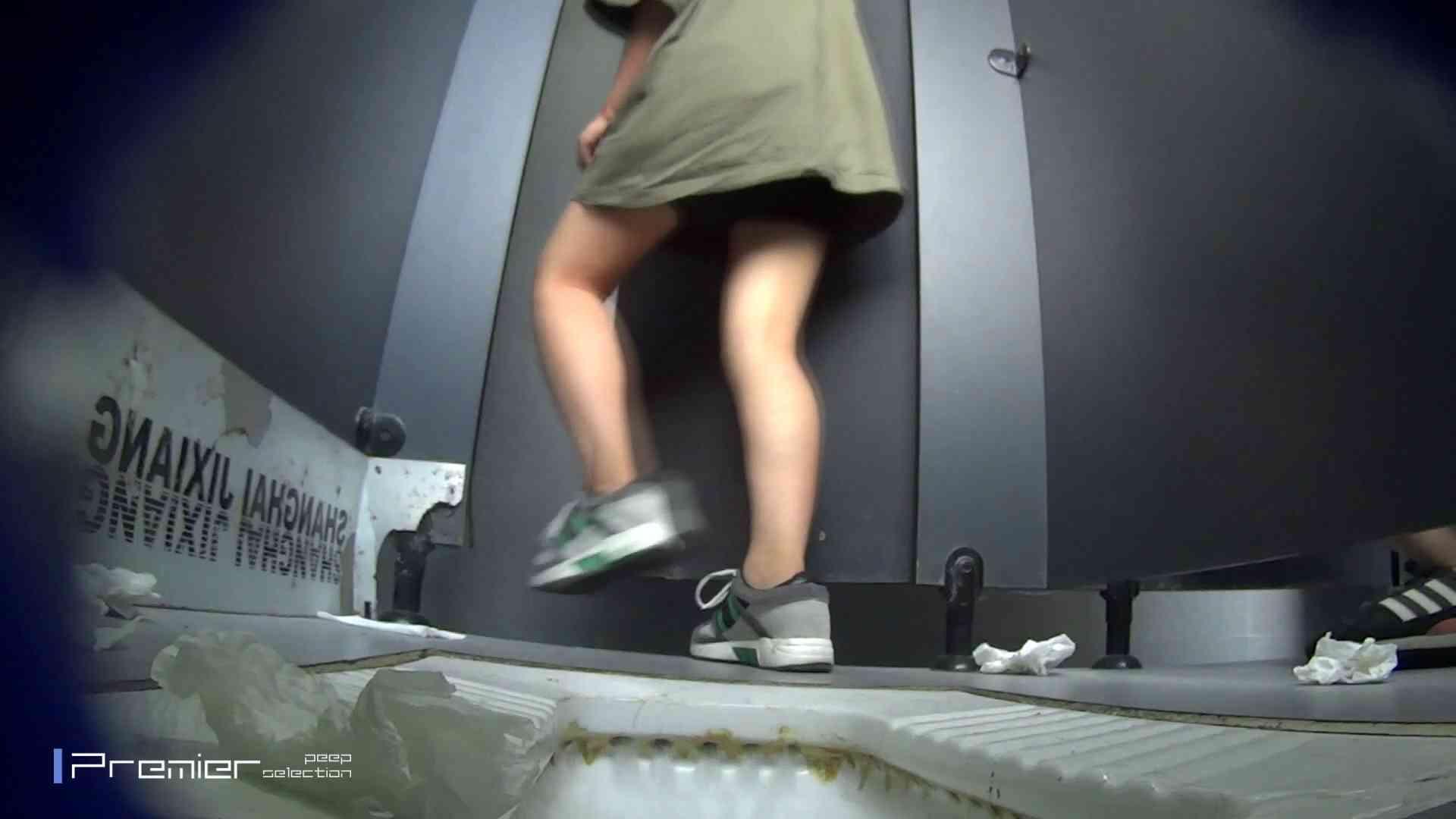 スキニージーンズの美女 大学休憩時間の洗面所事情56 洗面所シーン 濡れ場動画紹介 17画像 6