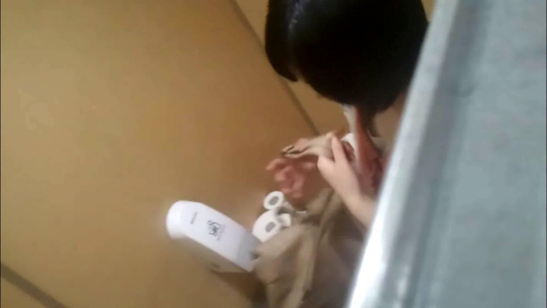 化粧室絵巻 商い場編 VOL.09 ちょっと追ったりしてみました。 トイレで・・・ AV無料動画キャプチャ 93画像 8