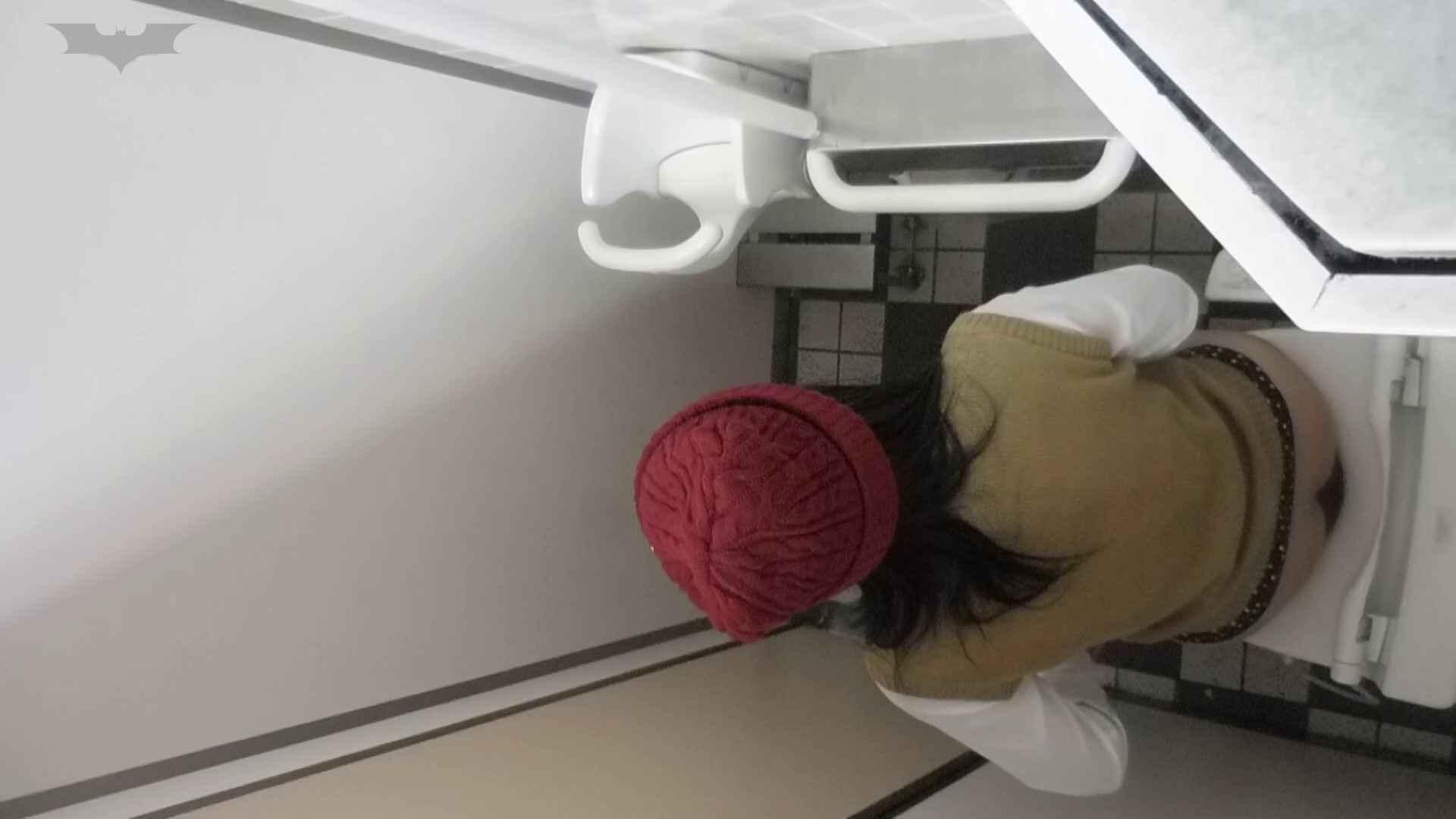 化粧室絵巻 駅舎編 VOL.22 季節外れの冬服特集!! パンチラ・ギャル 性交動画流出 91画像 84