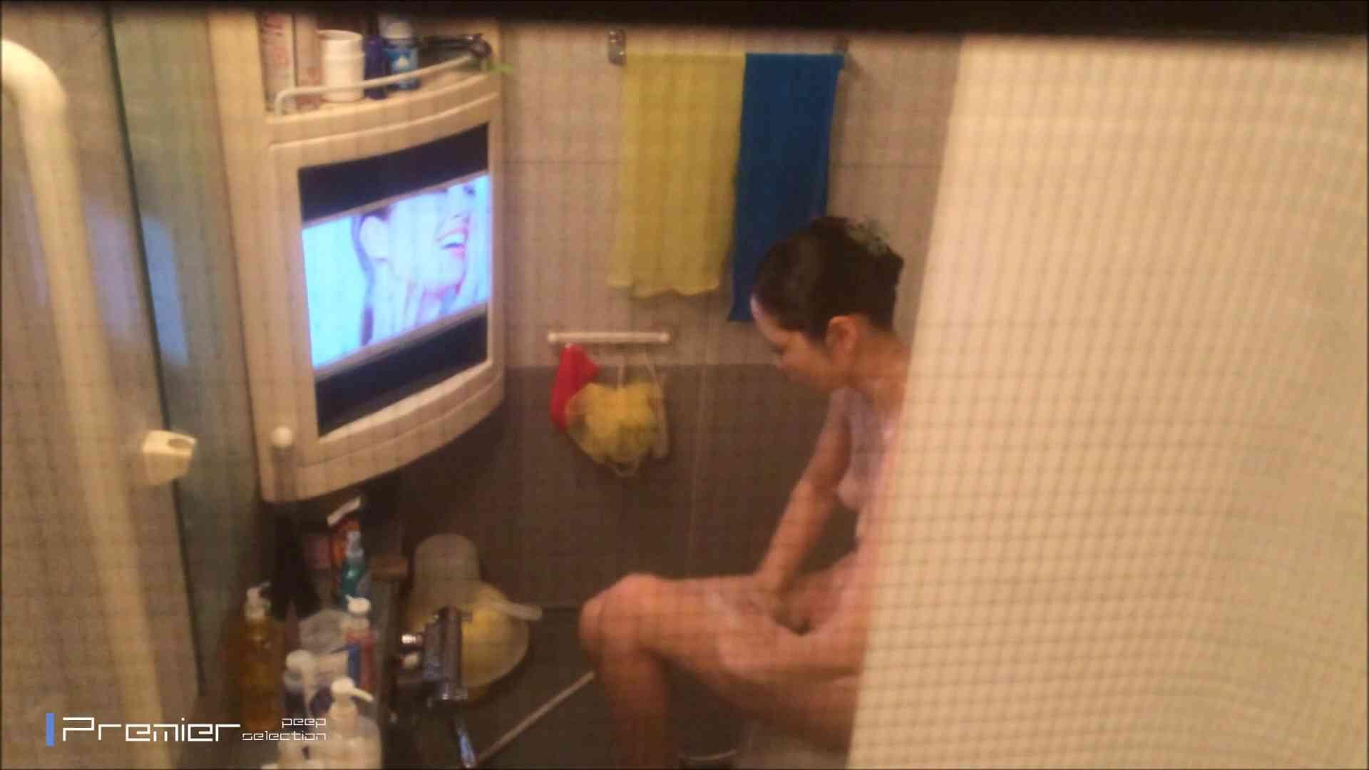 美女のテレビを見ながらの入浴 乙女の風呂場 Vol.21 桃色乳首 性交動画流出 69画像 55