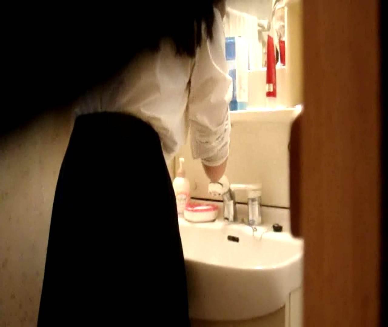 vol.5 まどかが帰宅後の洗顔後にブラを洗ってます。 いじくり  21画像 8