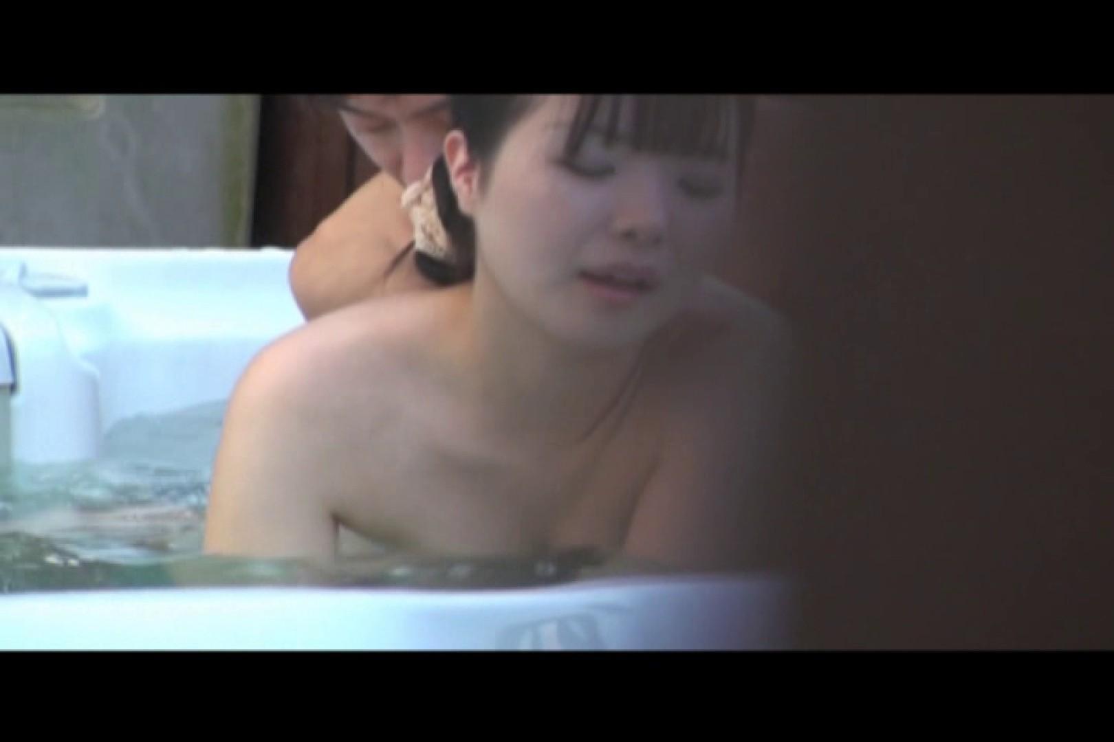貸切露天 発情カップル! vol.09 カップル   露天風呂の女子達  43画像 39