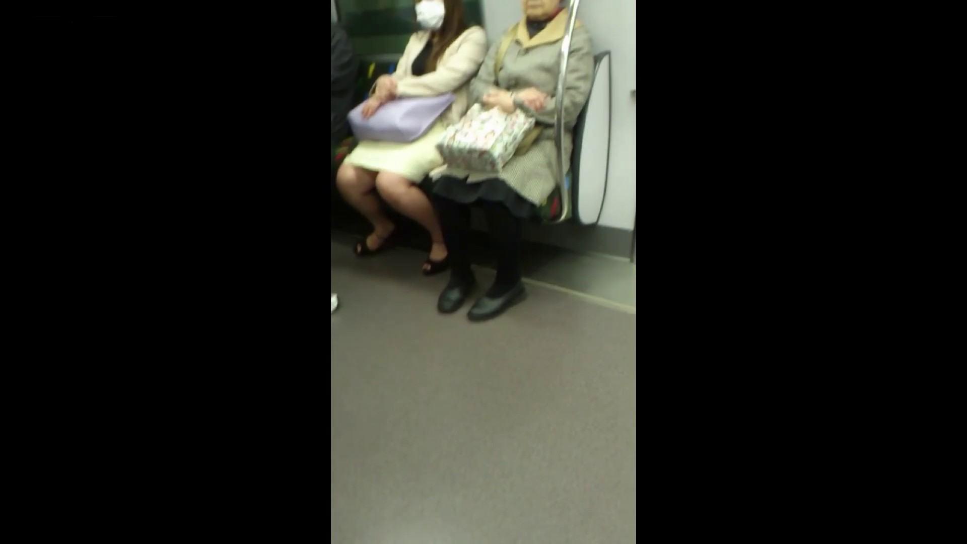 盗撮列車 Vol.55 黄色の爽やかなスカートが大好きです。 むっちり体型 オマンコ無修正動画無料 53画像 10