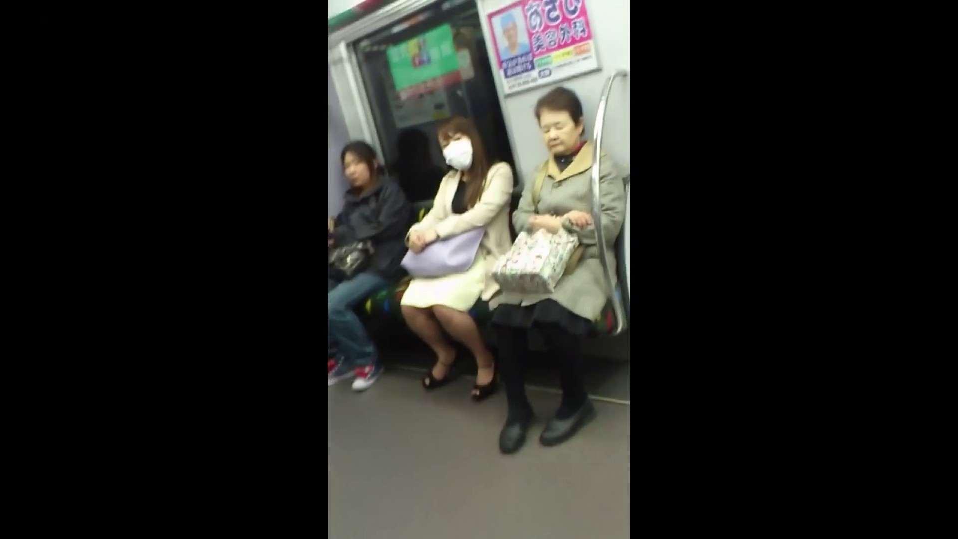 盗撮列車 Vol.55 黄色の爽やかなスカートが大好きです。 パンチラ・ギャル  53画像 30