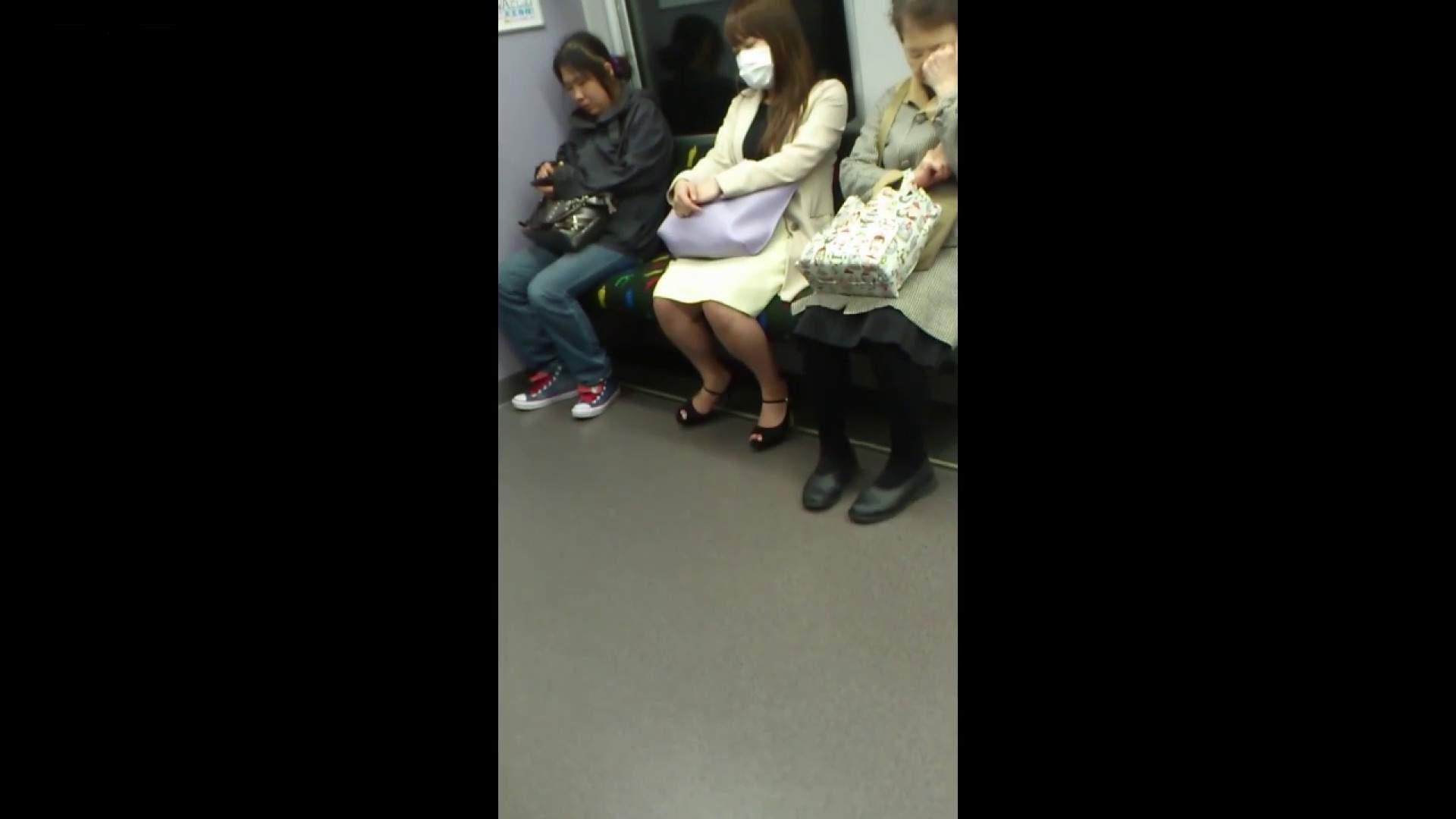 盗撮列車 Vol.55 黄色の爽やかなスカートが大好きです。 盗撮・必見 すけべAV動画紹介 53画像 33