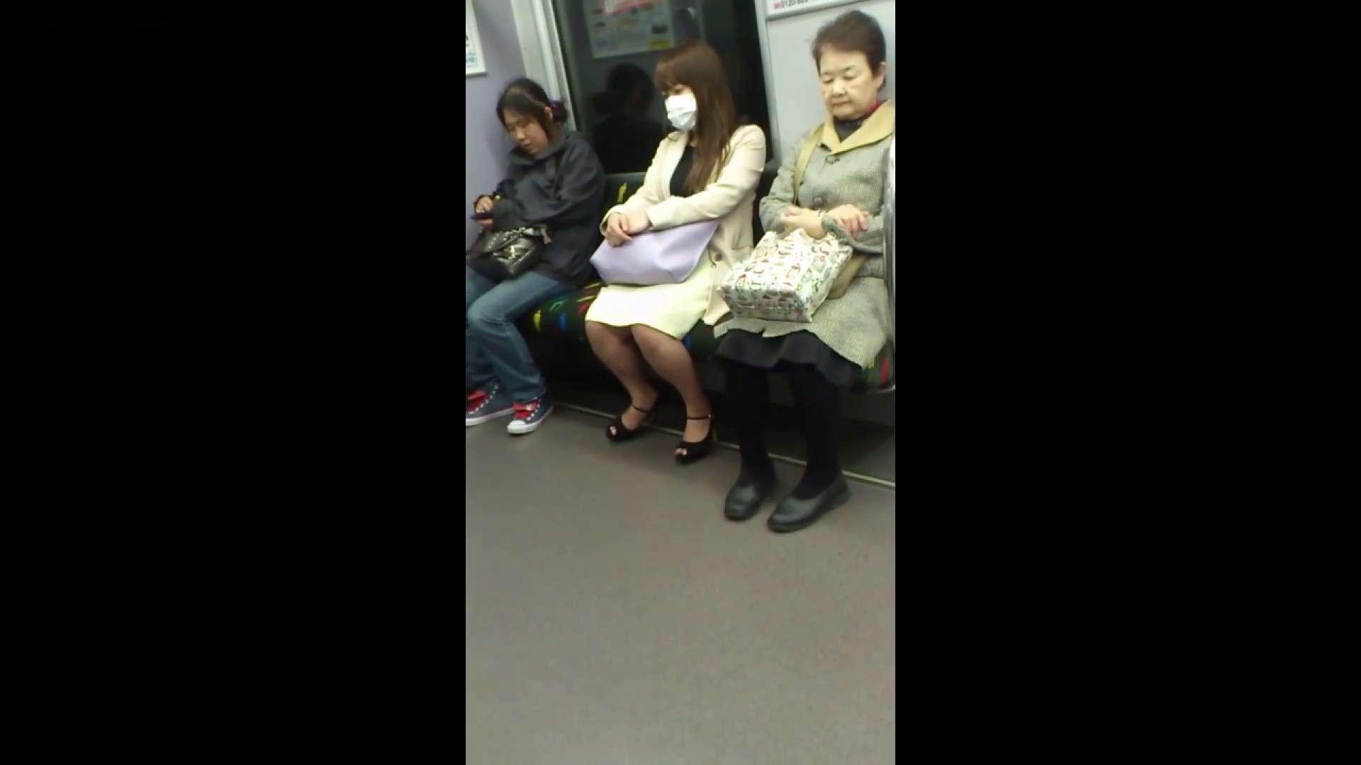 盗撮列車 Vol.55 黄色の爽やかなスカートが大好きです。 パンチラ・ギャル | 美肌  53画像 37