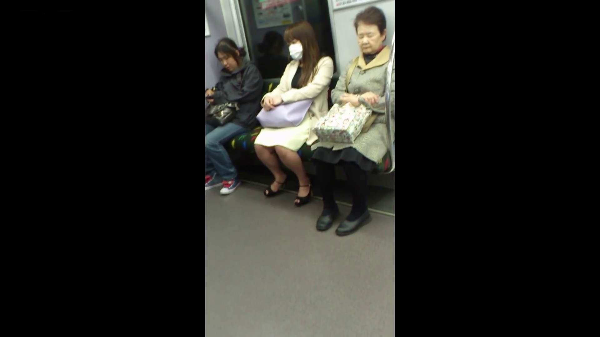盗撮列車 Vol.55 黄色の爽やかなスカートが大好きです。 盗撮・必見 すけべAV動画紹介 53画像 39