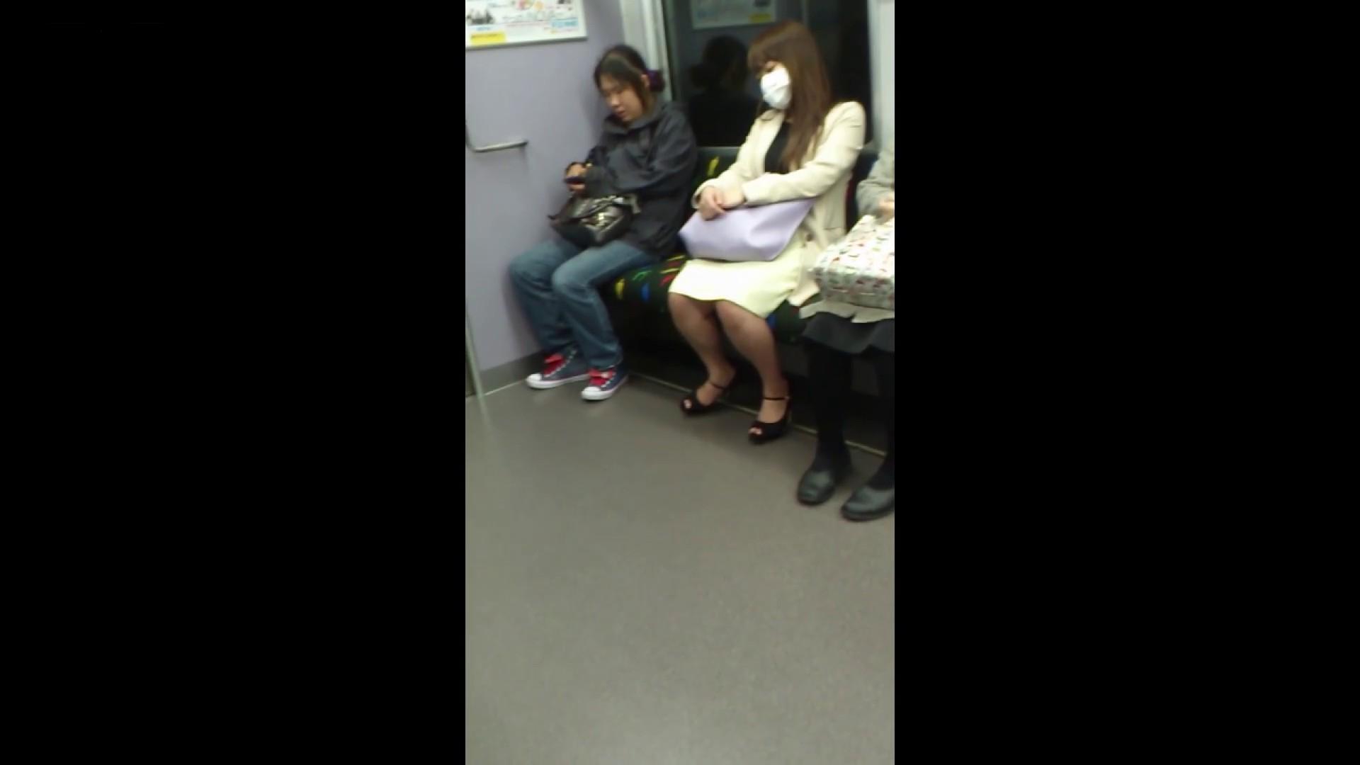 盗撮列車 Vol.55 黄色の爽やかなスカートが大好きです。 むっちり体型 オマンコ無修正動画無料 53画像 40