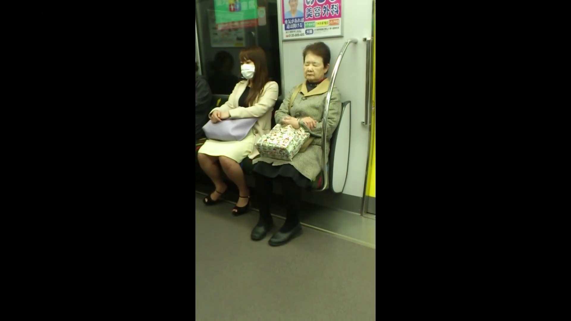 盗撮列車 Vol.55 黄色の爽やかなスカートが大好きです。 パンチラ・ギャル | 美肌  53画像 43