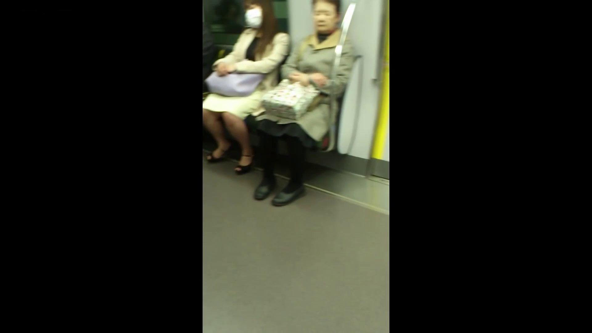 盗撮列車 Vol.55 黄色の爽やかなスカートが大好きです。 むっちり体型 オマンコ無修正動画無料 53画像 52