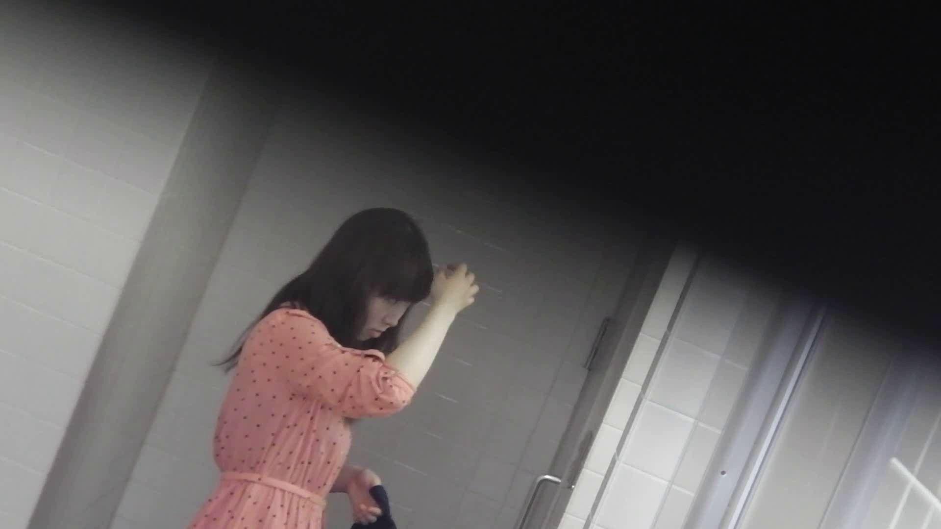 お銀さんの「洗面所突入レポート!!」 vol.28小島陽菜似のピンクオシャレさん 丸見え 性交動画流出 97画像 12