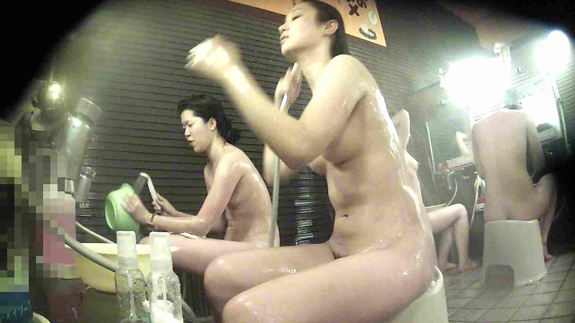 洗い場!神様は不公平・・・全ての要素で勝る手前の子 細身・スレンダー SEX無修正画像 93画像 49