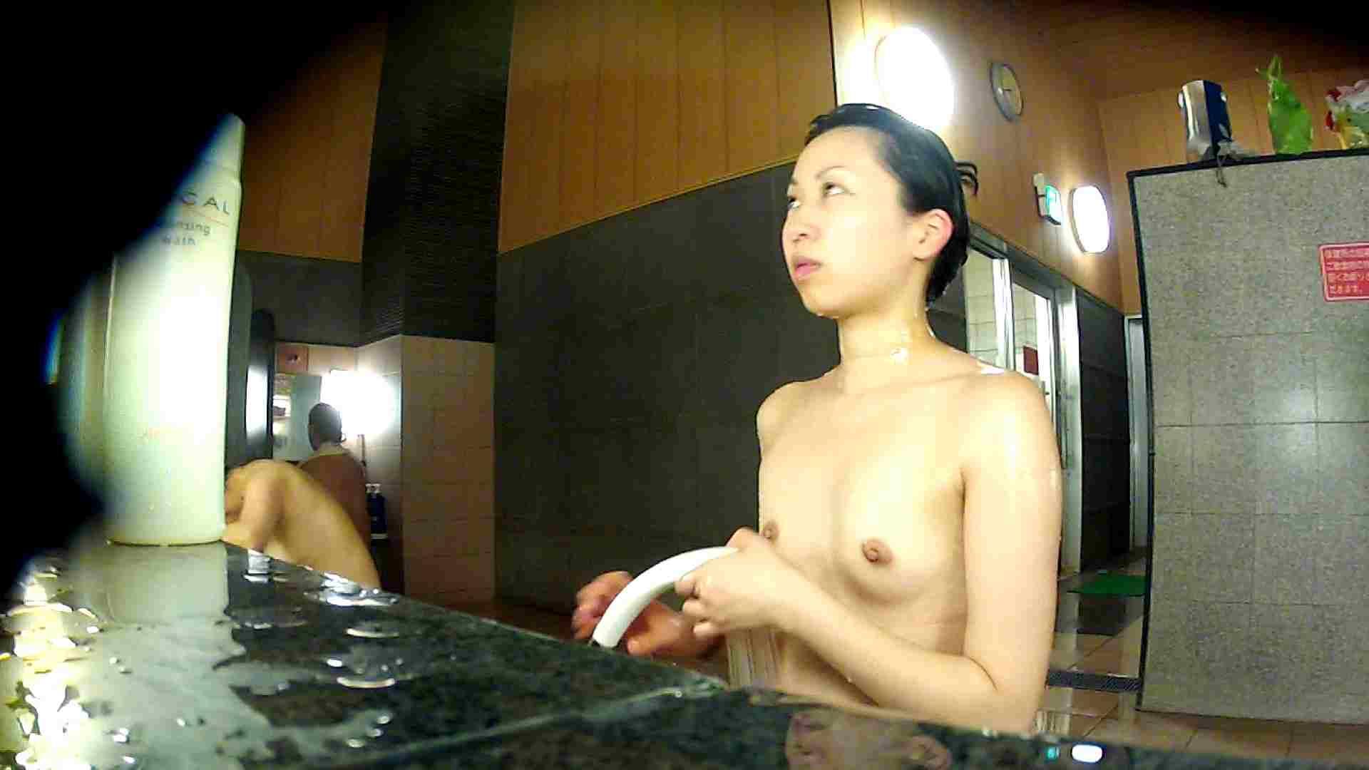 洗い場!前半のモヤを吹き飛ばす美貧乳お嬢さん 銭湯のぞき AV無料 70画像 13