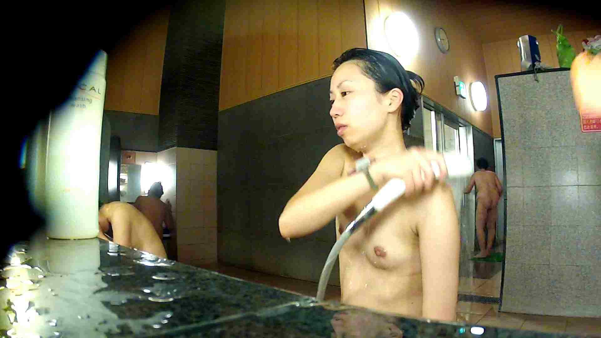 洗い場!前半のモヤを吹き飛ばす美貧乳お嬢さん 細身・スレンダー 戯れ無修正画像 70画像 18