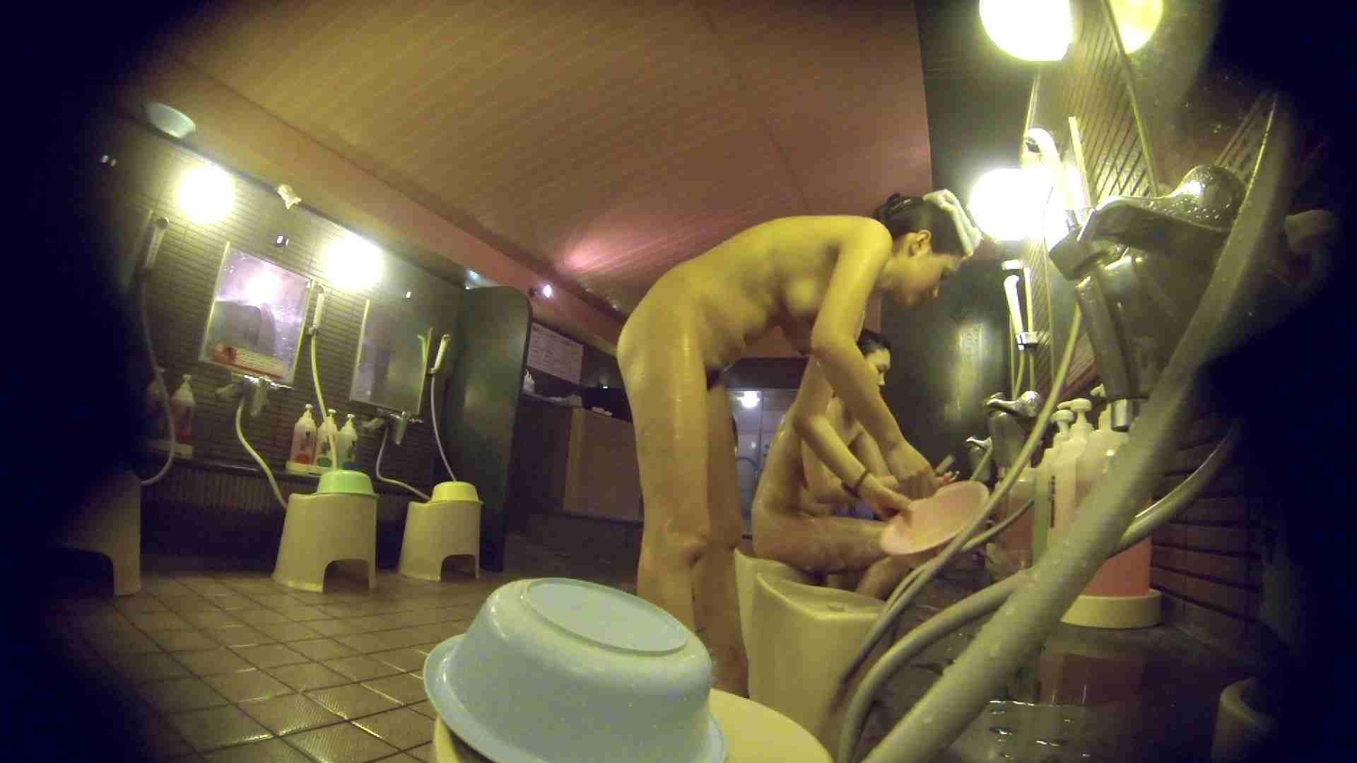 洗い場!スタイル抜群で柔らかそうに揺れるオッパイ 細身・スレンダー | 垂れ乳  107画像 22