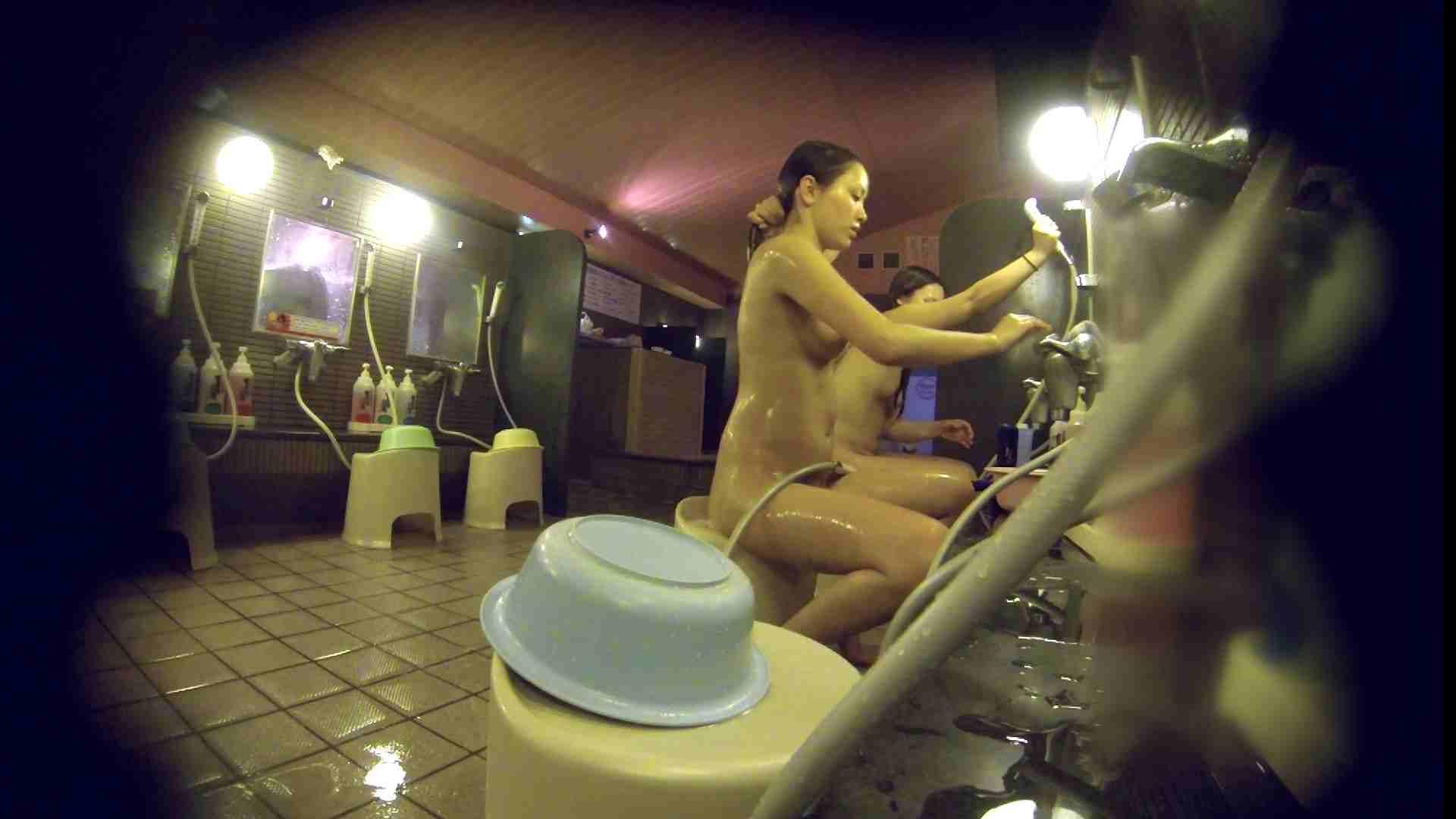 洗い場!スタイル抜群で柔らかそうに揺れるオッパイ エッチなお姉さん 性交動画流出 107画像 58