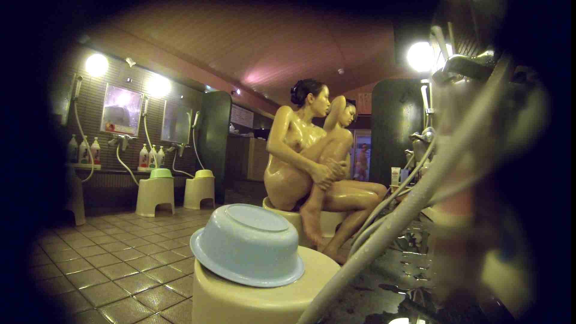 洗い場!スタイル抜群で柔らかそうに揺れるオッパイ 銭湯のぞき オマンコ動画キャプチャ 107画像 76