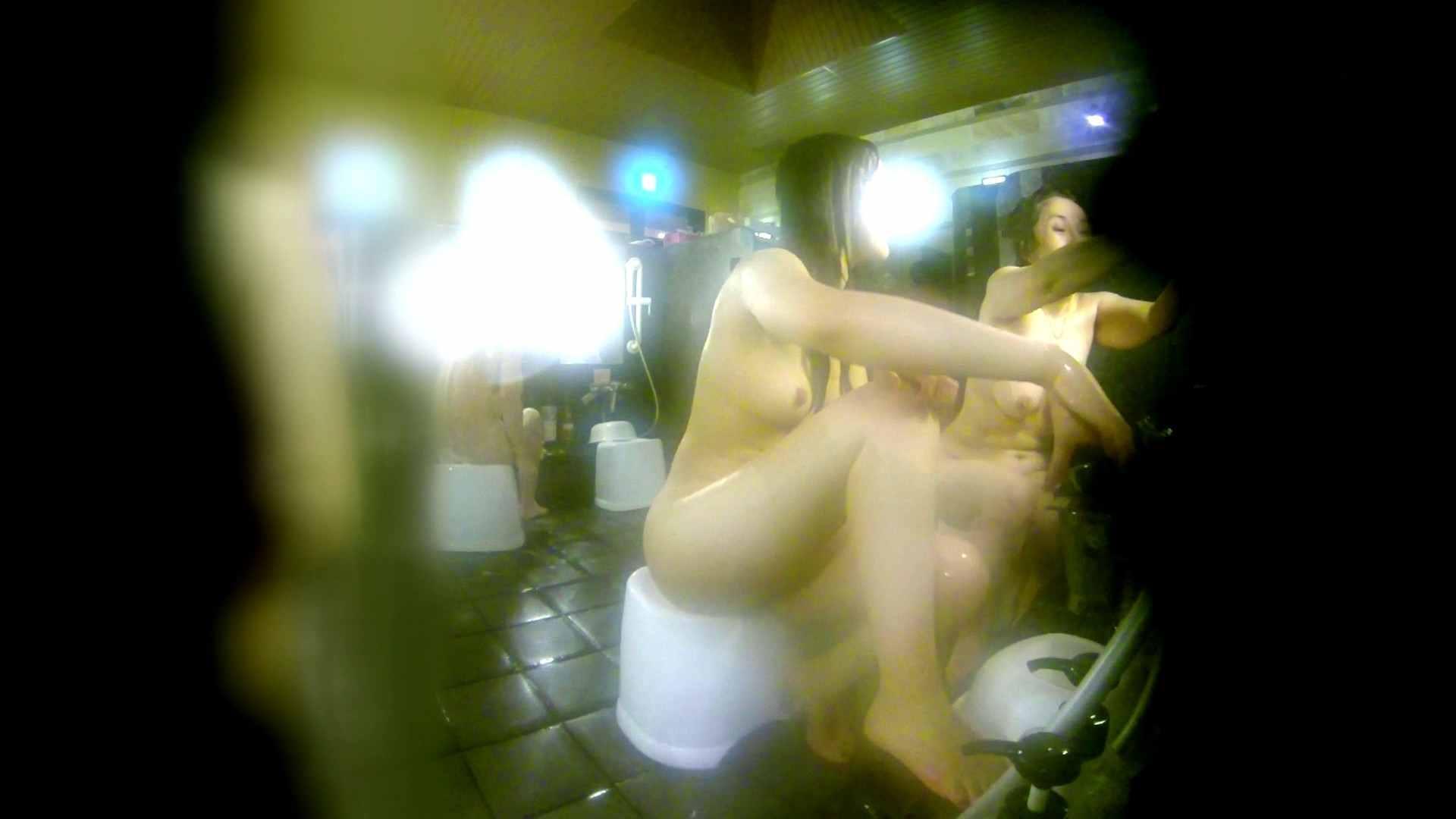 洗い場!右足の位置がいいですね。陰毛もっさり! 細身・スレンダー 戯れ無修正画像 74画像 4
