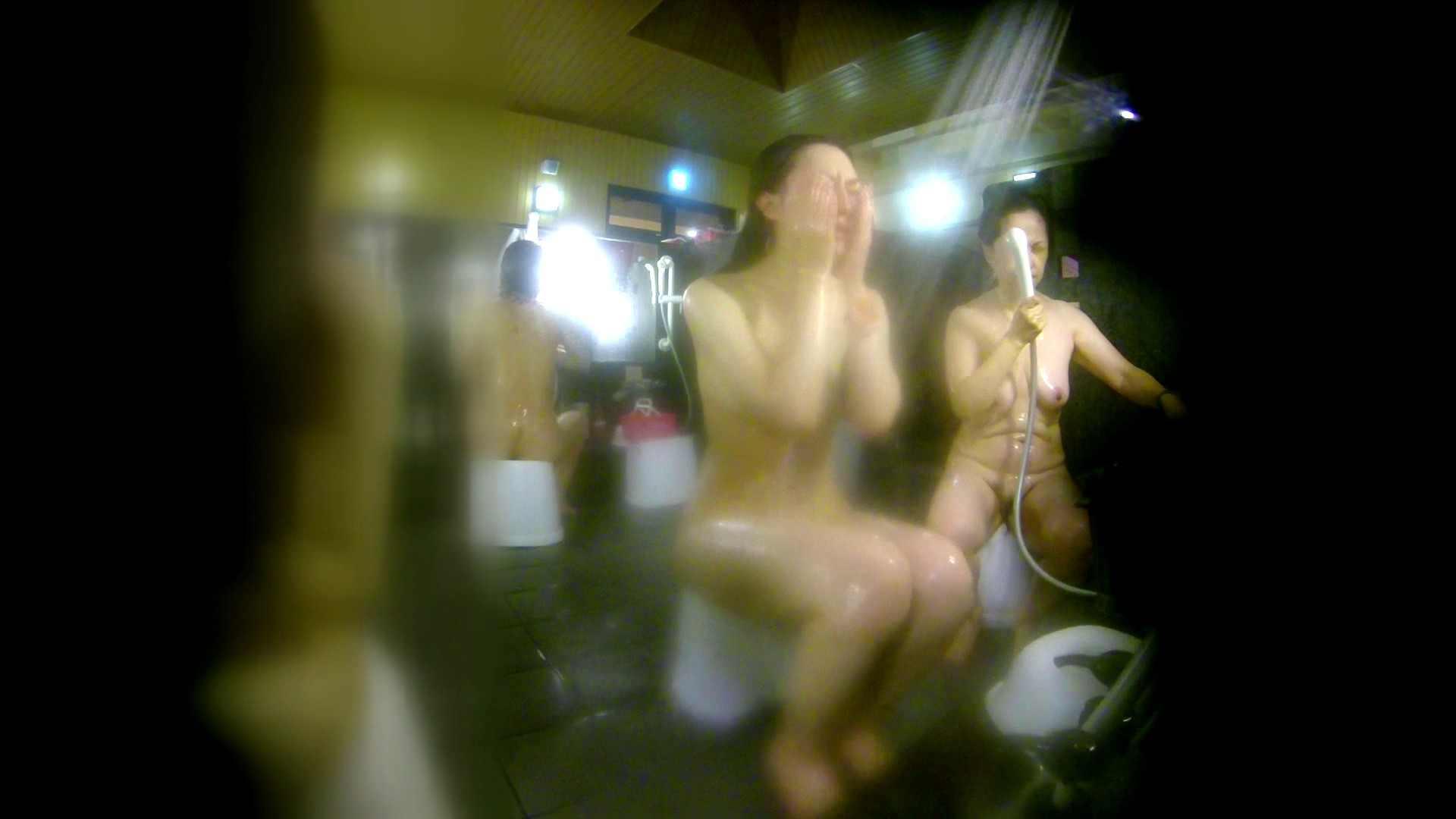 洗い場!右足の位置がいいですね。陰毛もっさり! 美乳 おまんこ動画流出 74画像 5