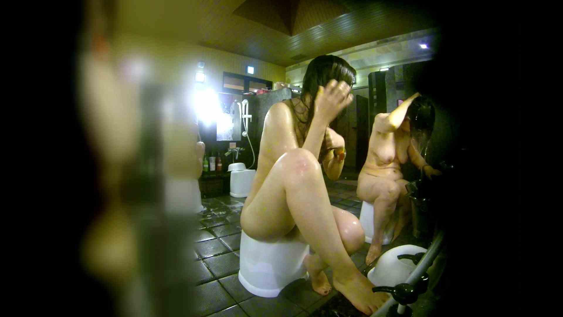 洗い場!右足の位置がいいですね。陰毛もっさり! 美乳 おまんこ動画流出 74画像 26