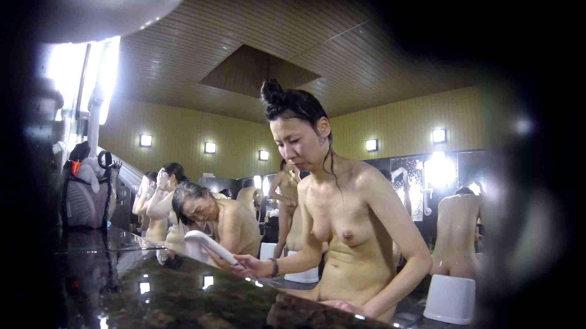 洗い場!だんご結びのお女市さん、色素が薄いです。 美乳 性交動画流出 67画像 15