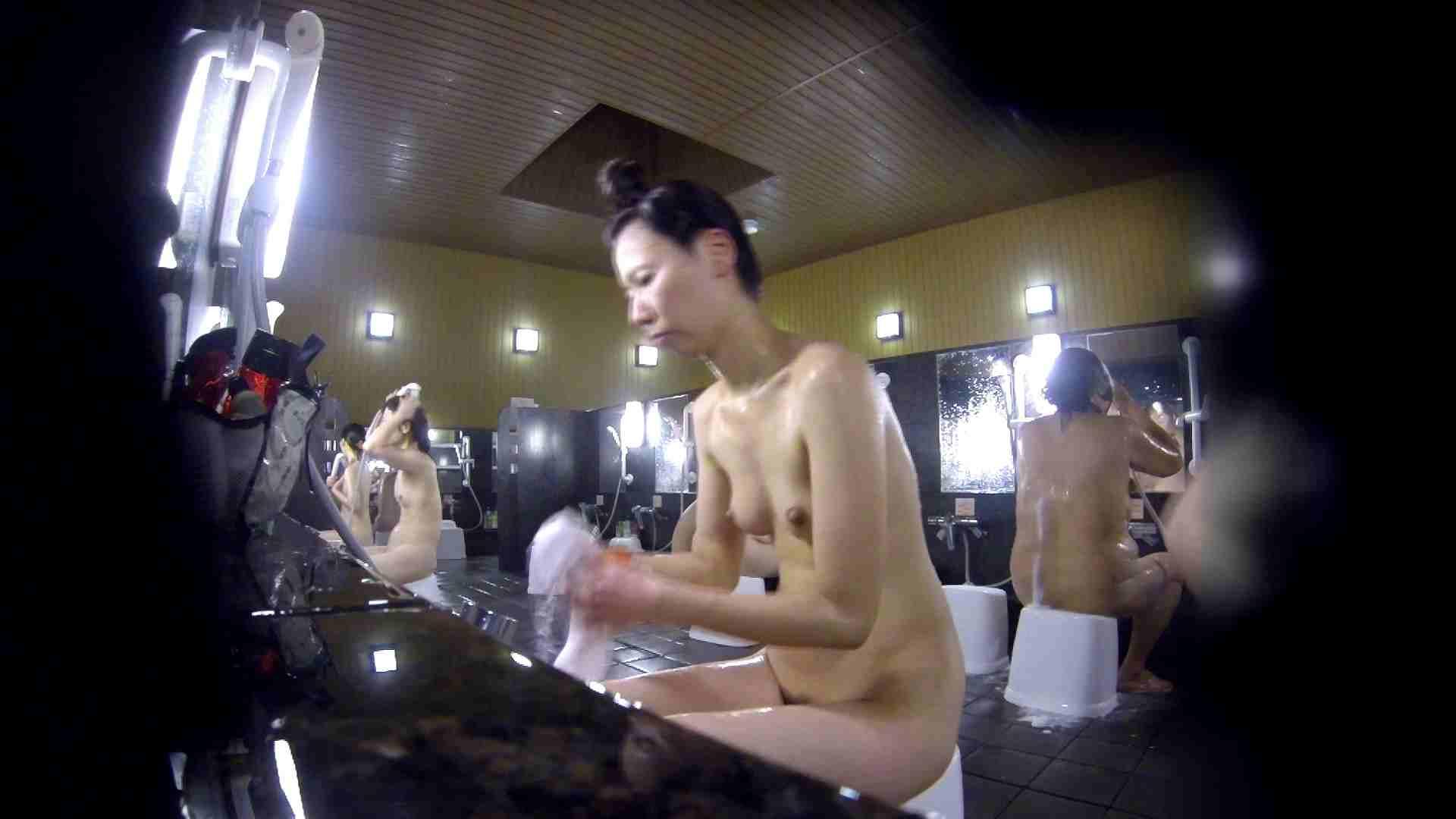 洗い場!だんご結びのお女市さん、色素が薄いです。 美乳 性交動画流出 67画像 45