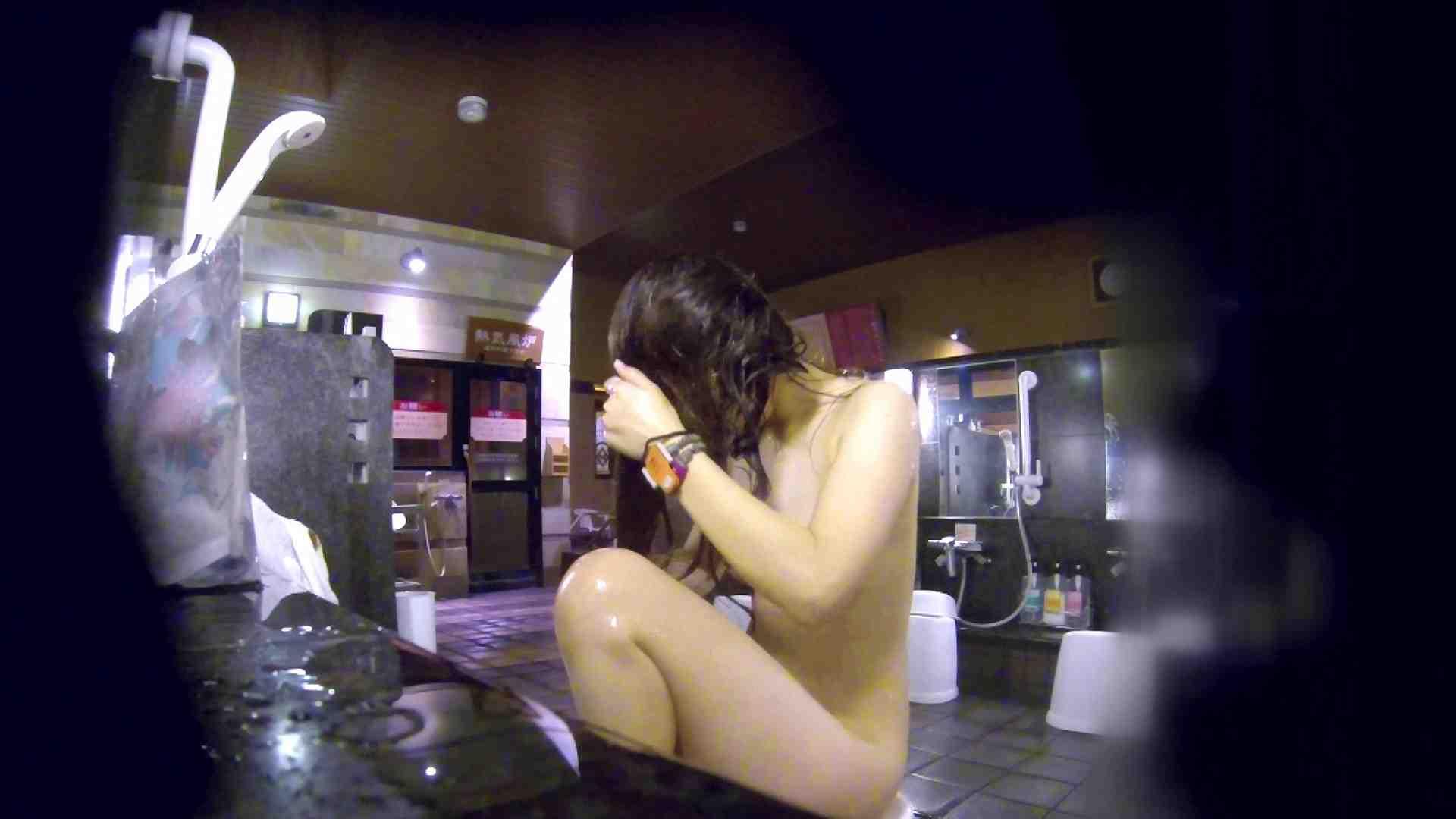 洗い場!腹肉をオッパイにしようとしてますが無理でしょうね。 細身・スレンダー AV無料動画キャプチャ 95画像 53