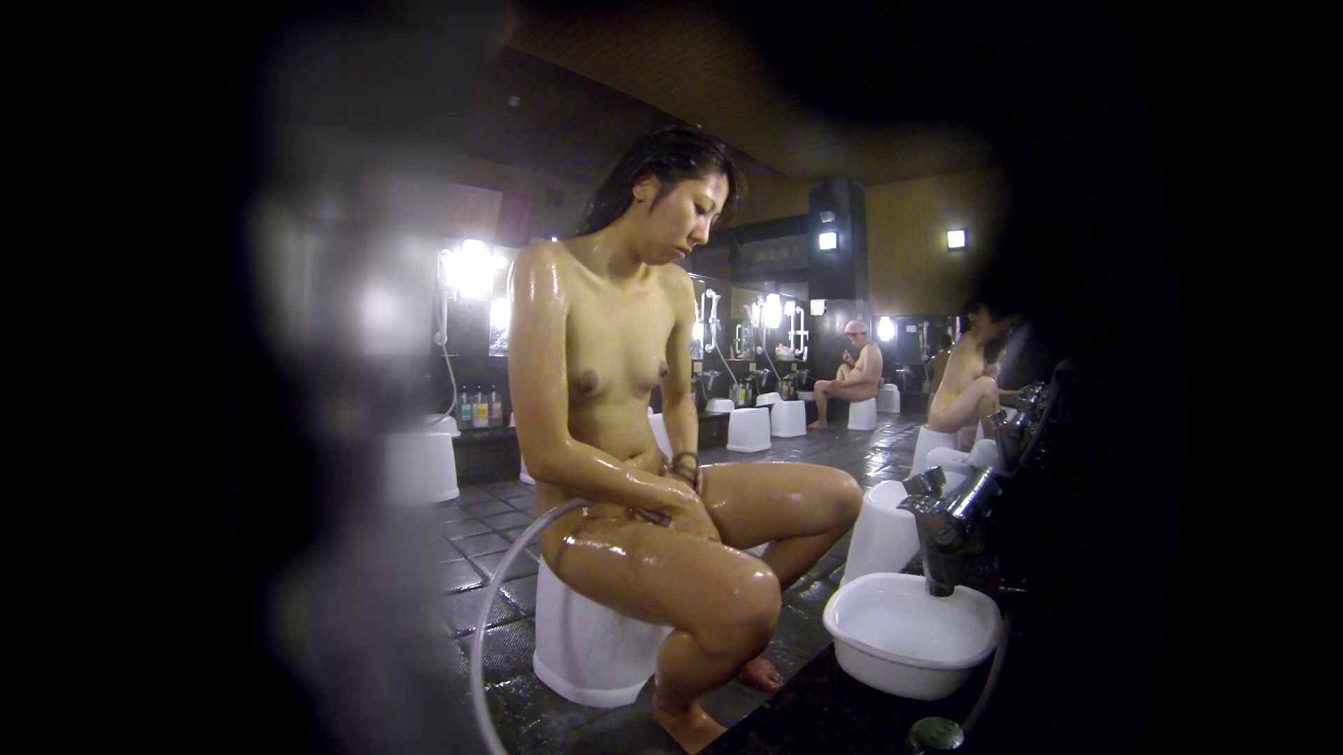 洗い場!綺麗に整えられた陰毛に嫉妬します。 細身・スレンダー  82画像 60