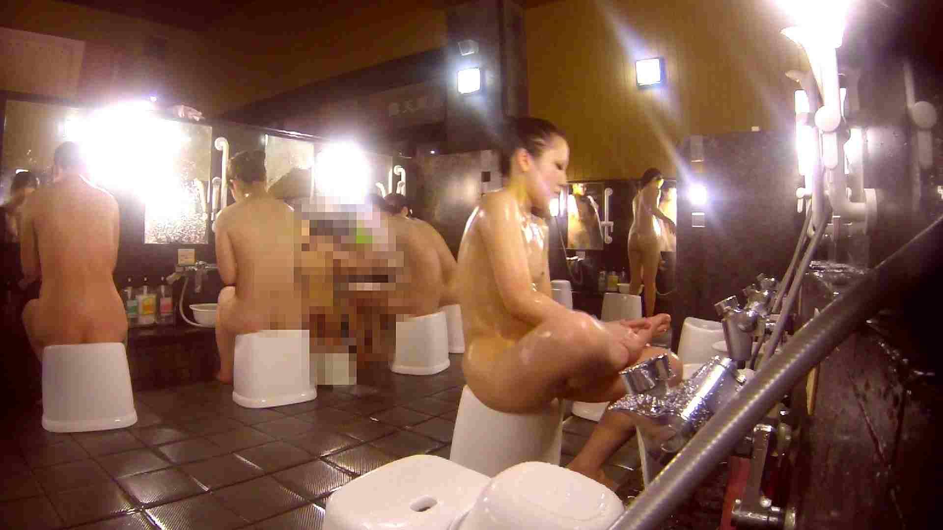 洗い場!貧乳ケバギャル発見! 貧乳 オマンコ動画キャプチャ 56画像 4