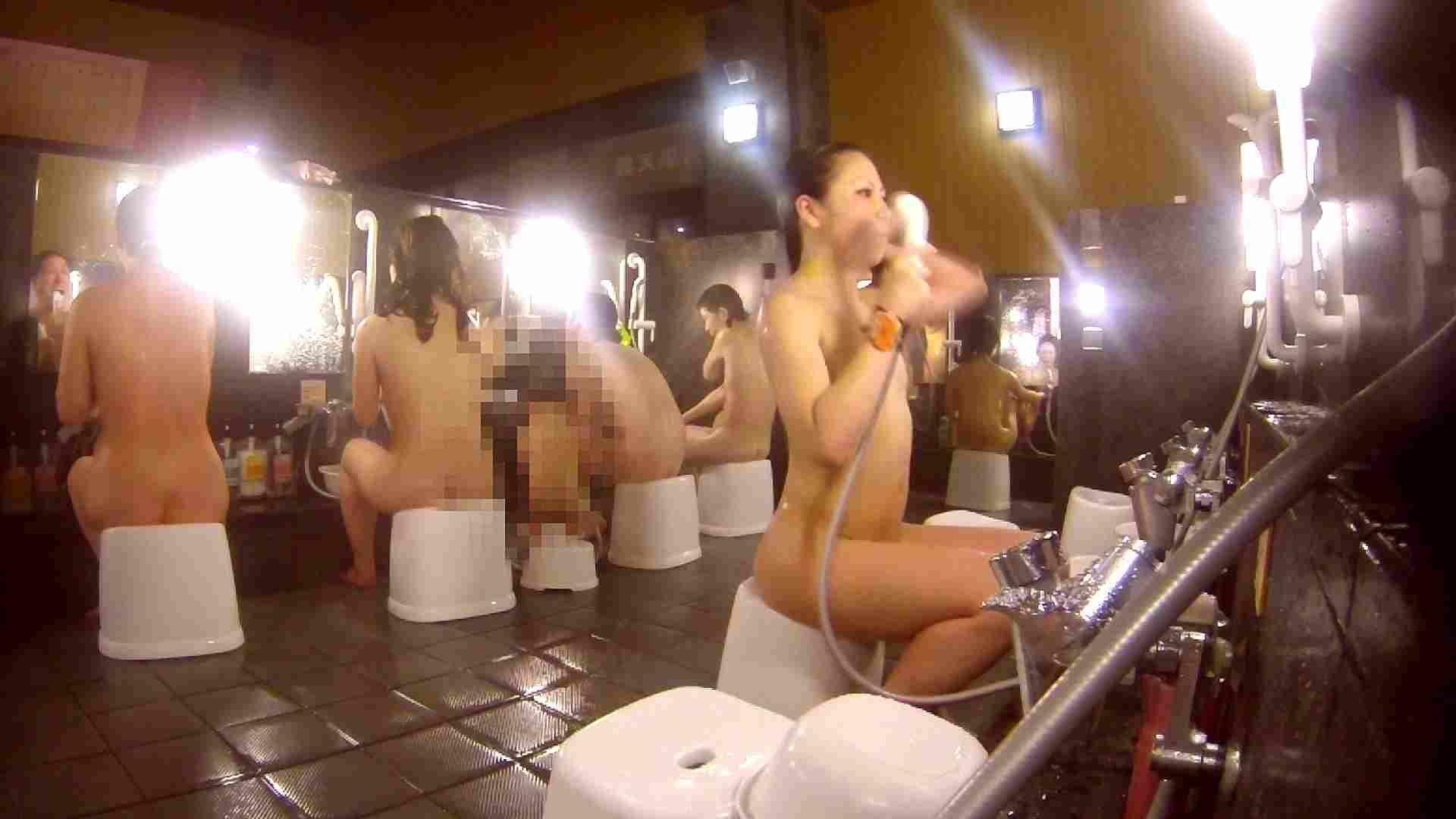 洗い場!貧乳ケバギャル発見! 細身・スレンダー ヌード画像 56画像 26