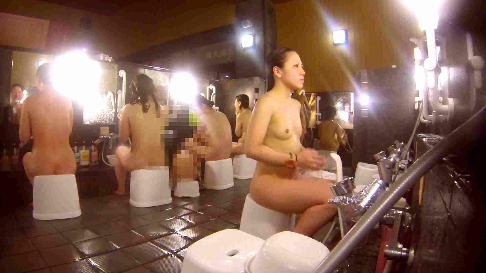 洗い場!貧乳ケバギャル発見! 女湯の中 濡れ場動画紹介 56画像 27