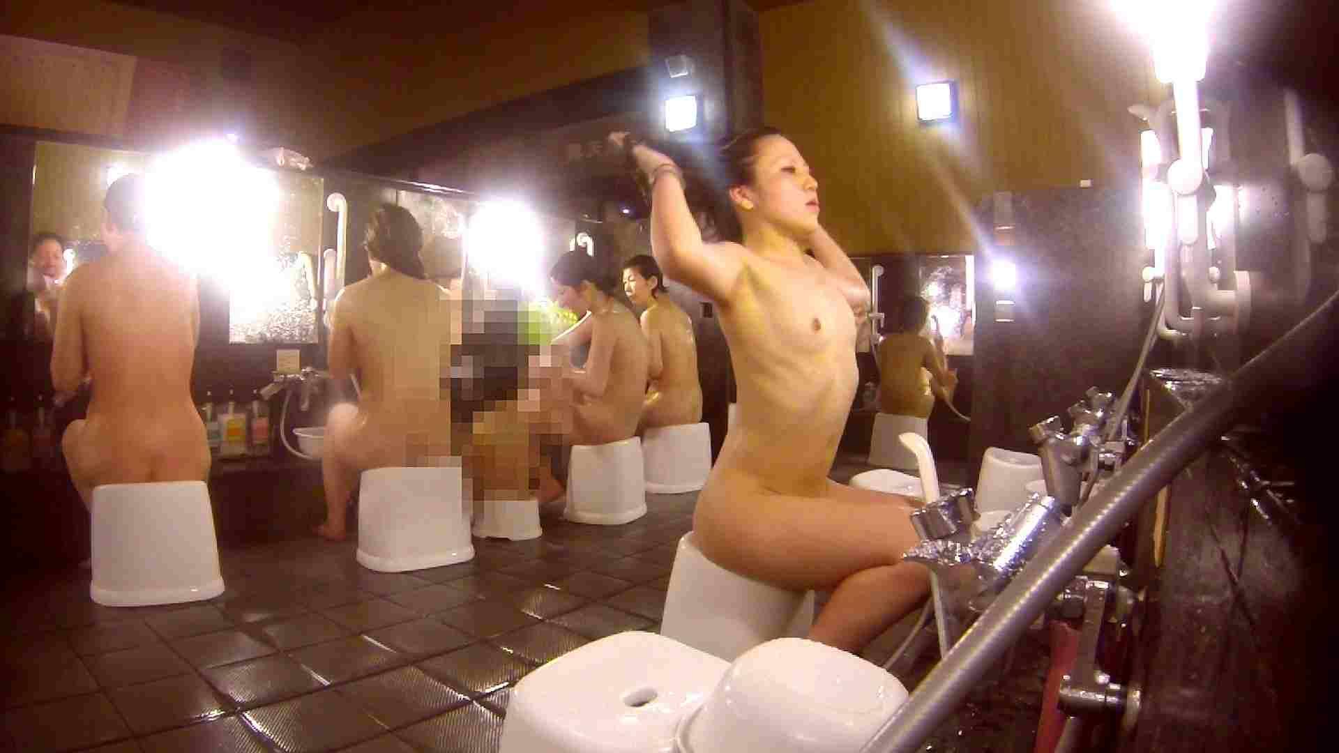 洗い場!貧乳ケバギャル発見! 細身・スレンダー ヌード画像 56画像 32