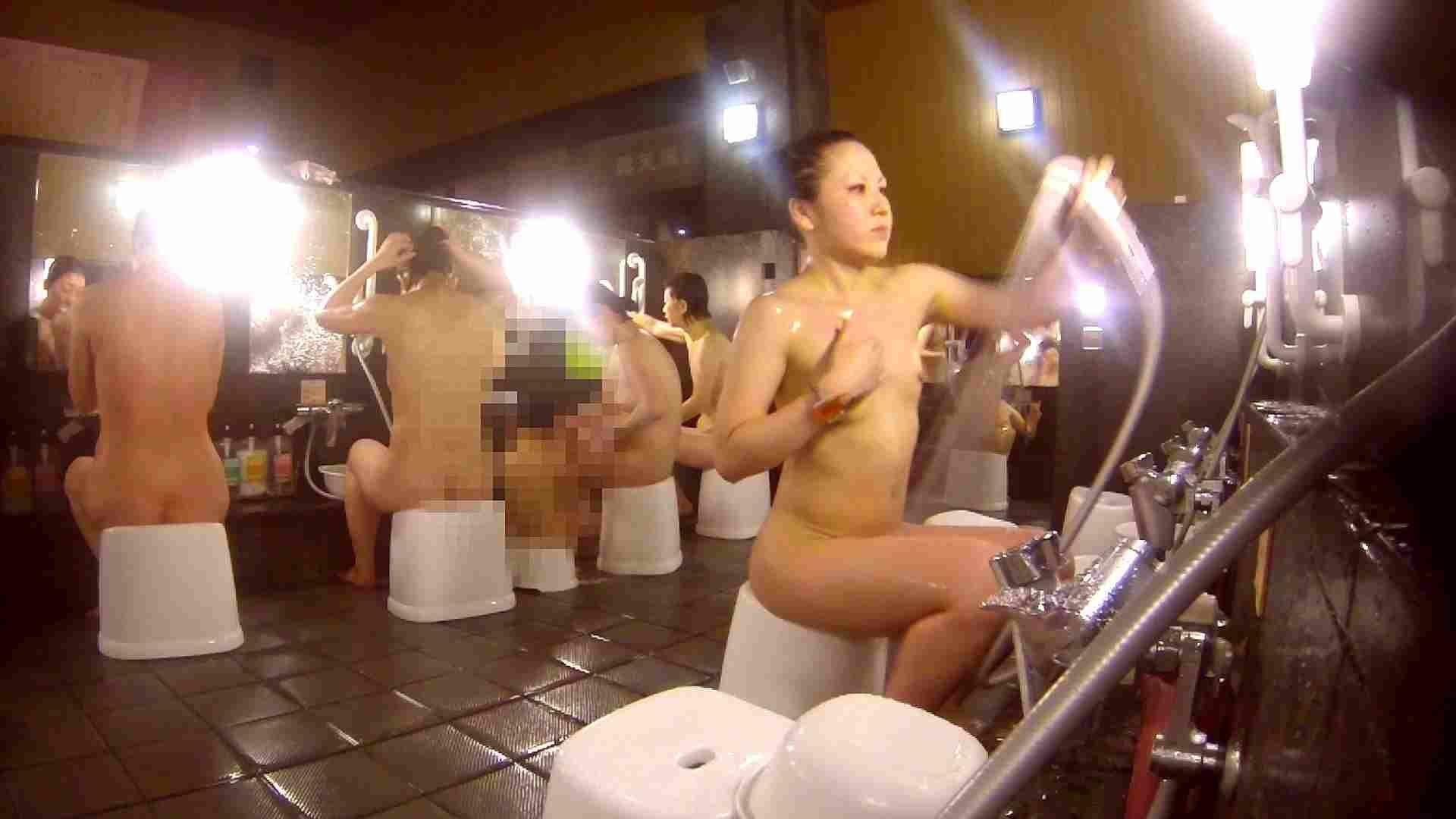 洗い場!貧乳ケバギャル発見! 細身・スレンダー ヌード画像 56画像 44