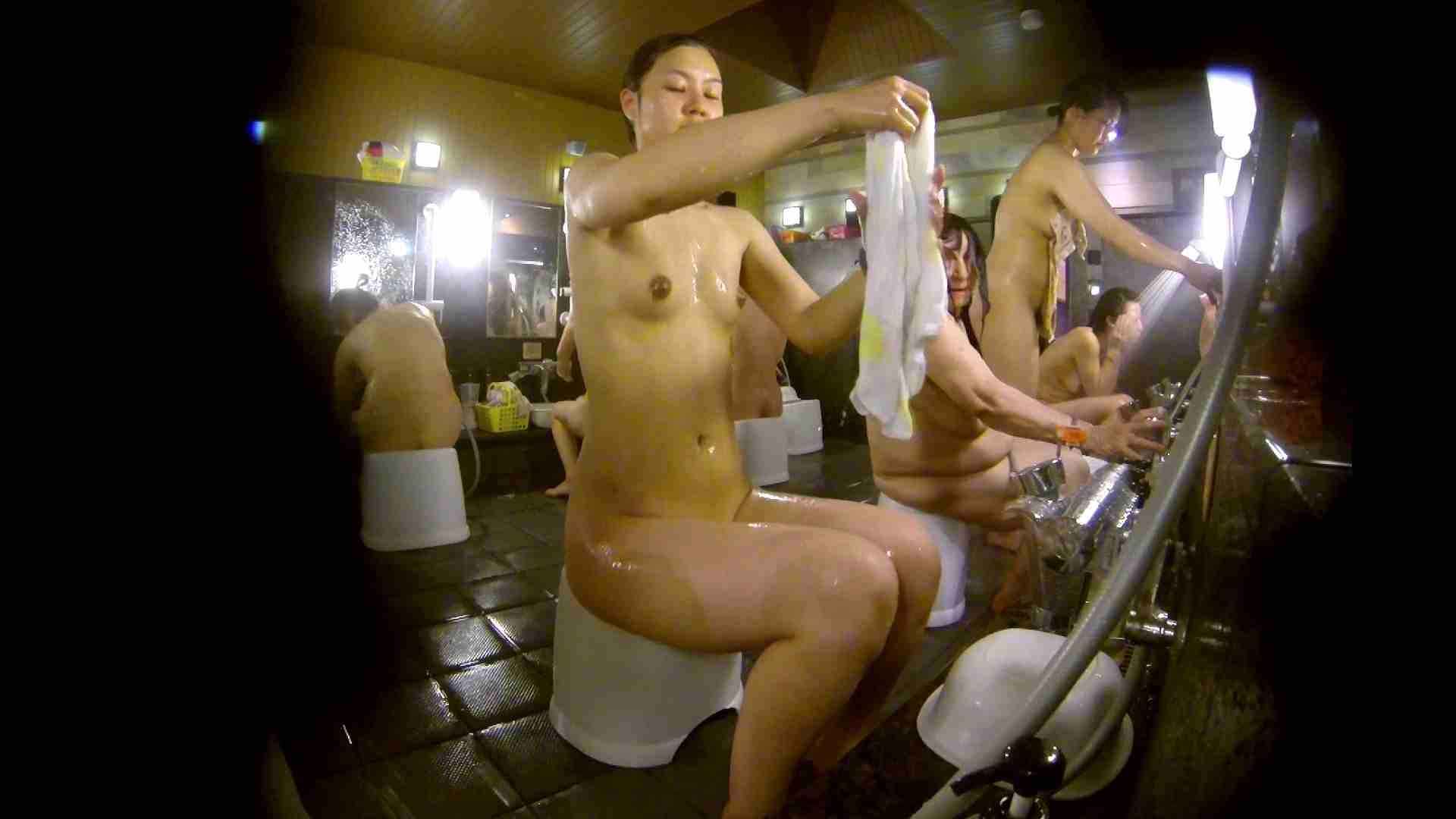 追い撮り!脱衣~洗い場、徹底追跡!撮り師さんに拍手!! 桃色乳首 AV無料 78画像 57
