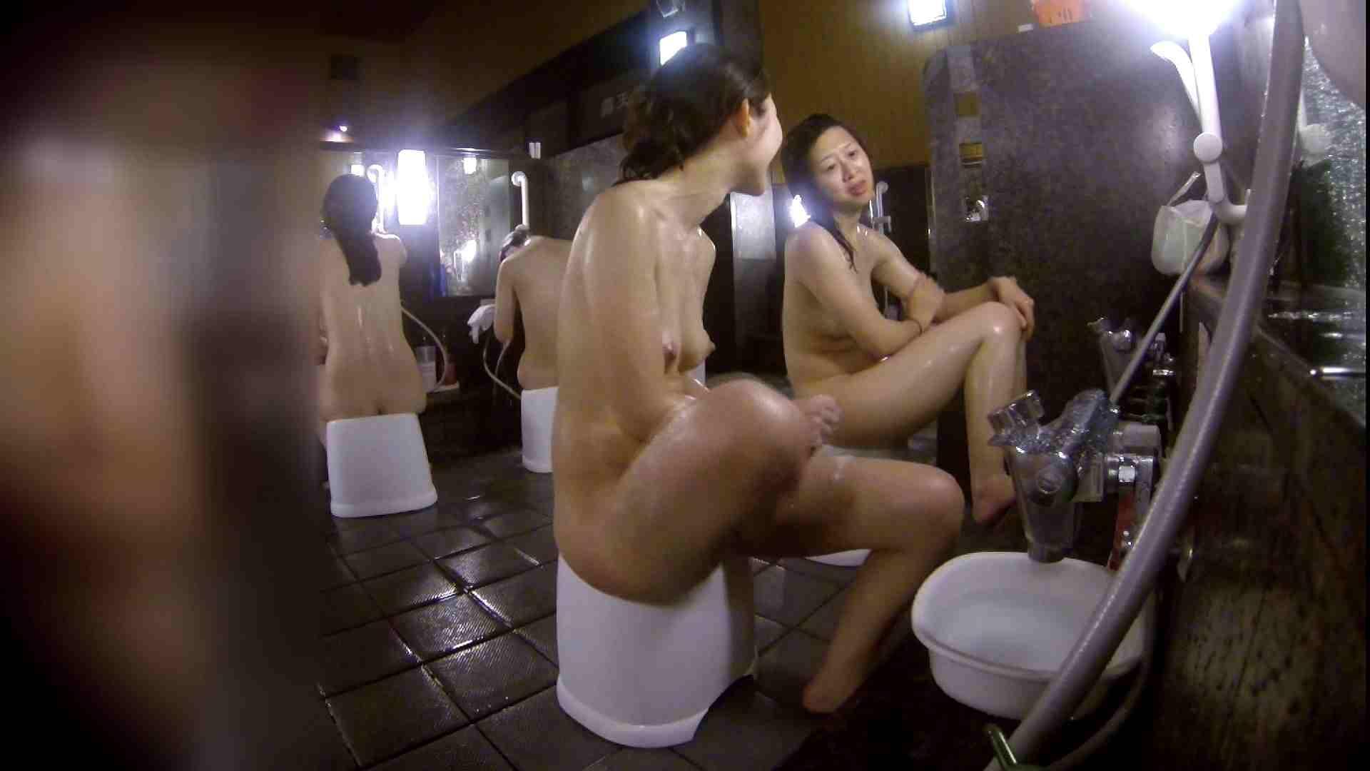 洗い場!地味目の女の子2人組。ずっと話しながら洗ってます。 細身・スレンダー セックス無修正動画無料 55画像 28