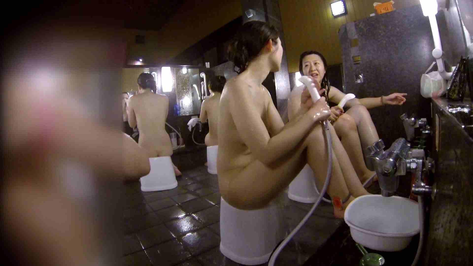 洗い場!地味目の女の子2人組。ずっと話しながら洗ってます。 細身・スレンダー セックス無修正動画無料 55画像 44
