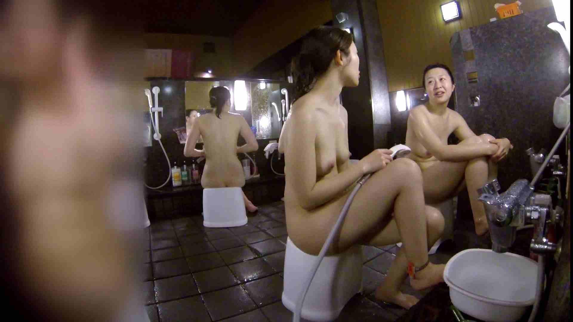 洗い場!地味目の女の子2人組。ずっと話しながら洗ってます。 細身・スレンダー セックス無修正動画無料 55画像 52
