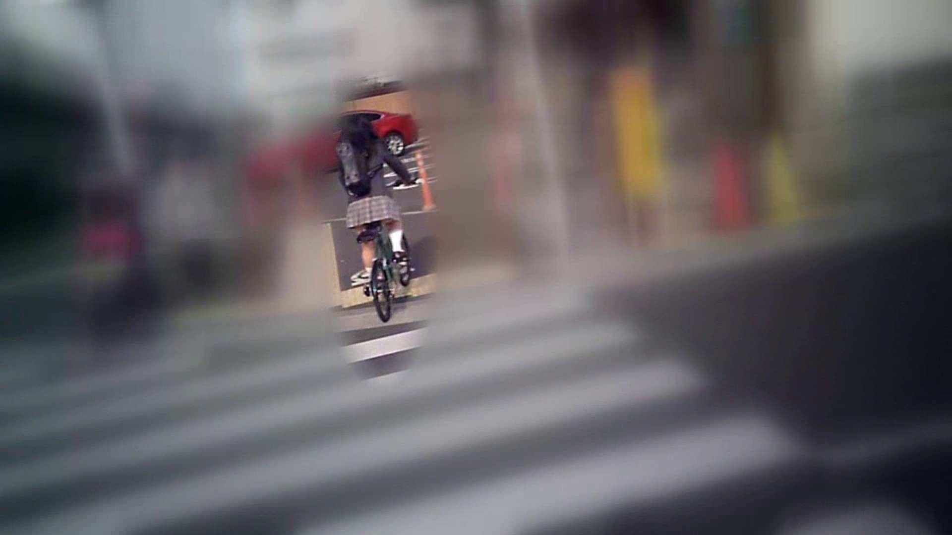 自転車パンチラ Vol.01 むっちり体型 おまんこ動画流出 90画像 27