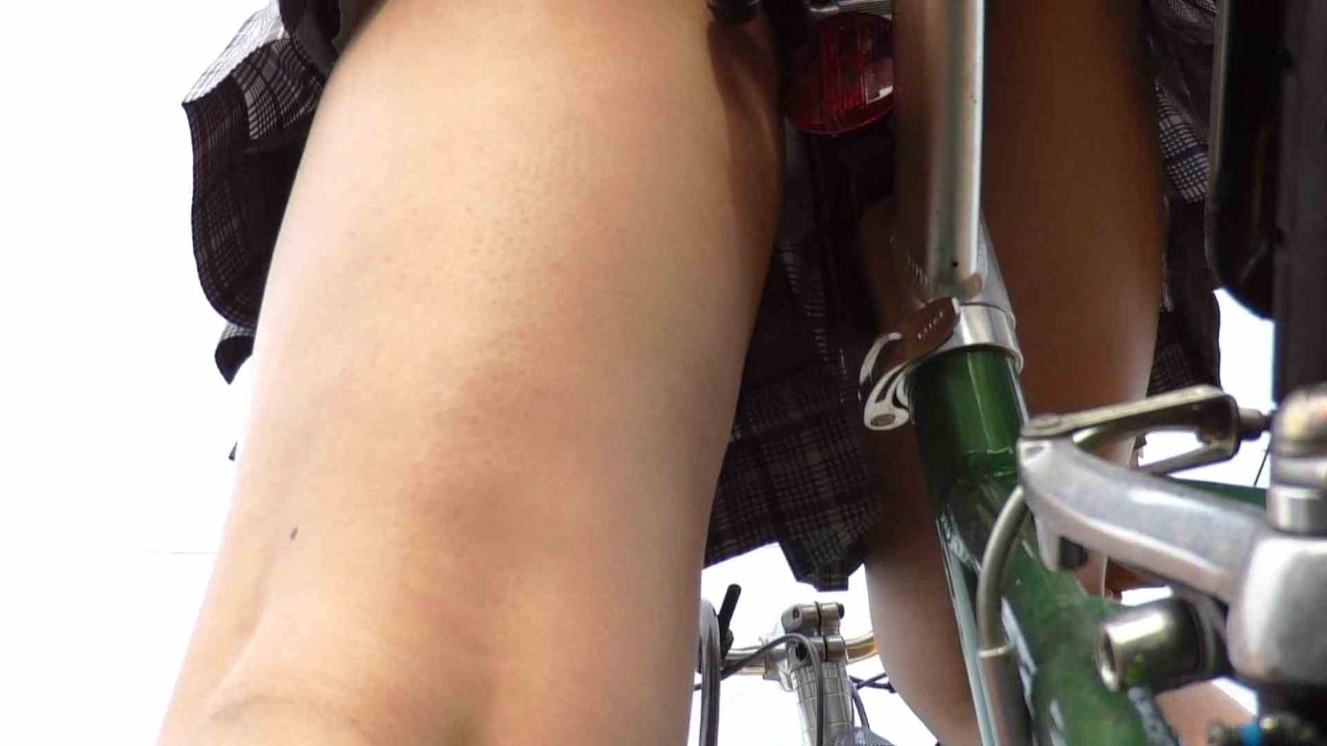 自転車パンチラ Vol.01 むっちり体型 おまんこ動画流出 90画像 59