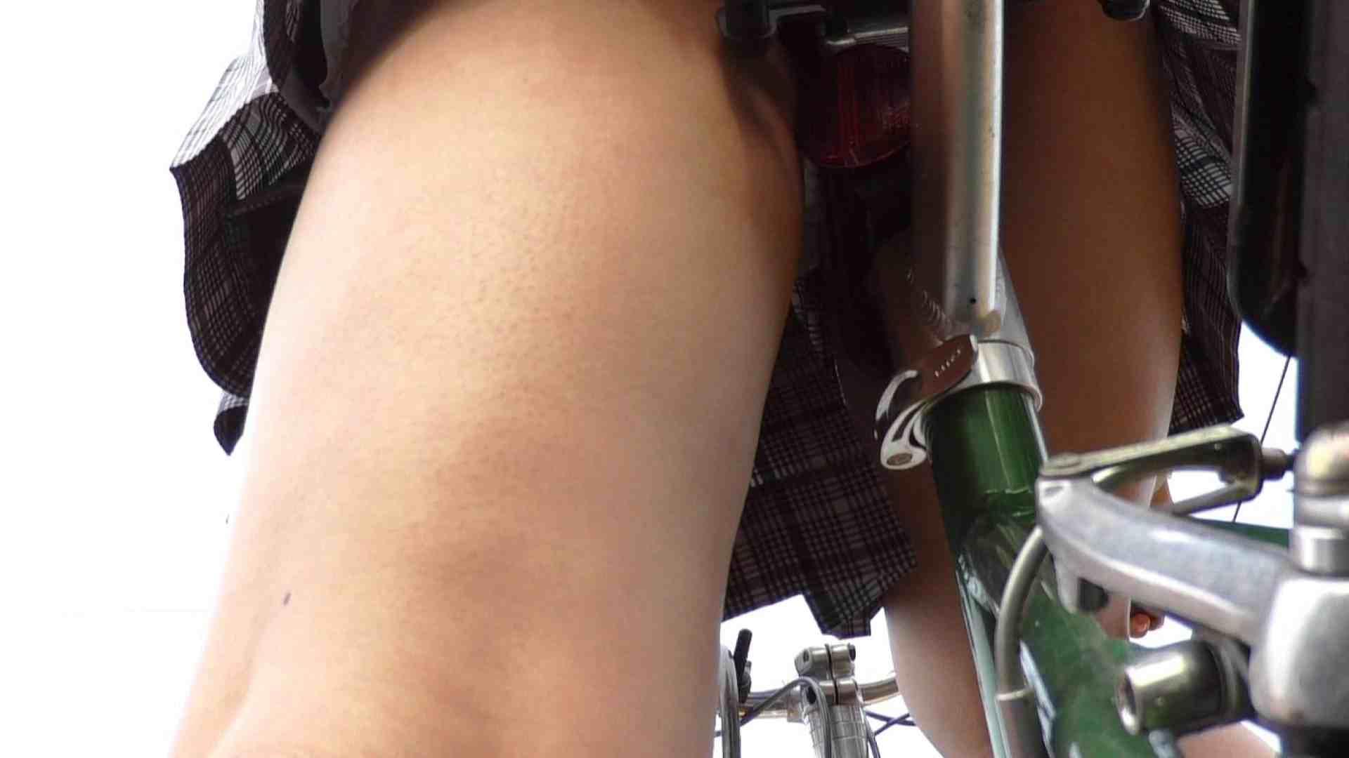 自転車パンチラ Vol.01 おしりムチムチ オマンコ無修正動画無料 90画像 63