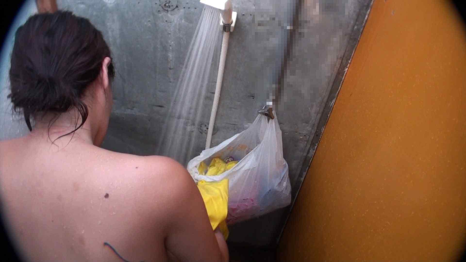 ハイビジョンVol.31 清楚なママのパンツはティーバック シャワー室 戯れ無修正画像 37画像 12
