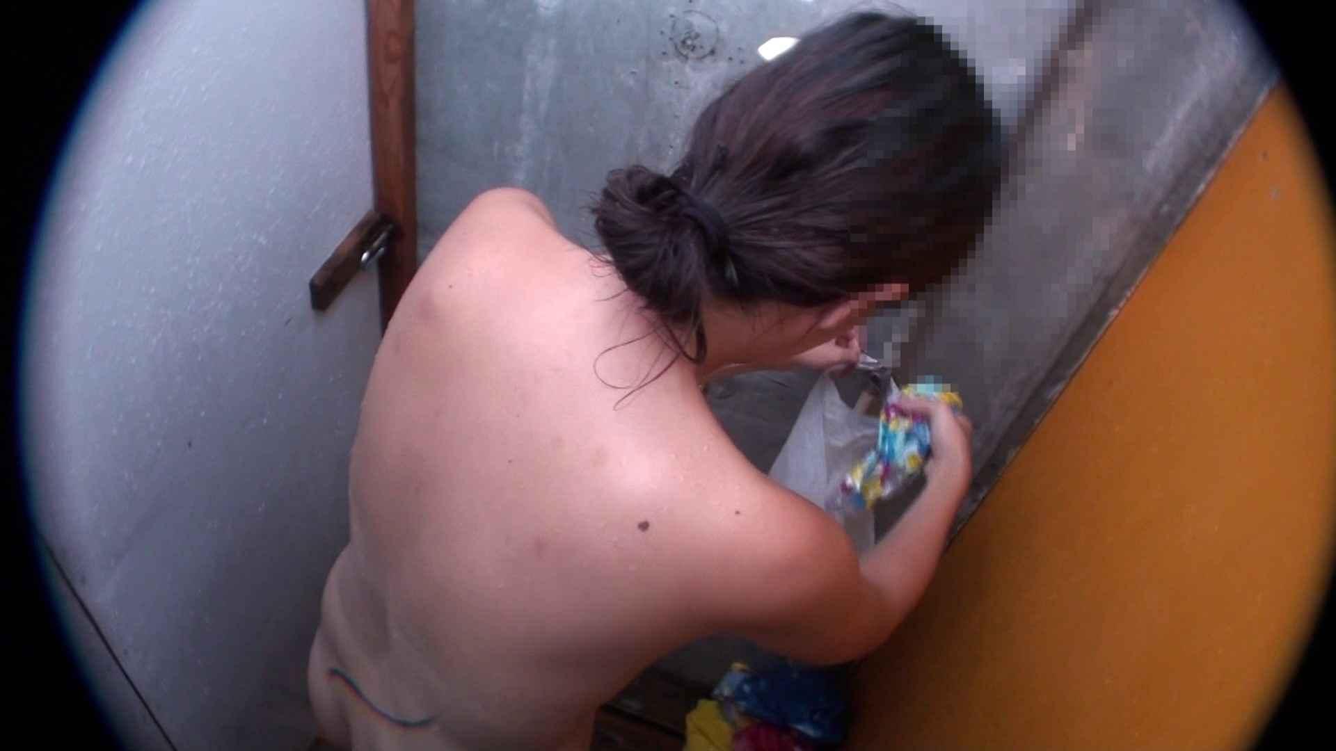 ハイビジョンVol.31 清楚なママのパンツはティーバック シャワー室 戯れ無修正画像 37画像 28